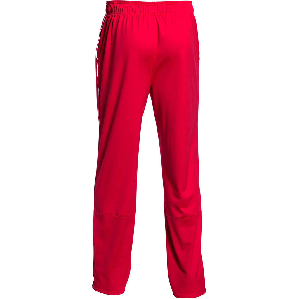 Under Armour Men's Red Rival Knit Warm-Up Pant