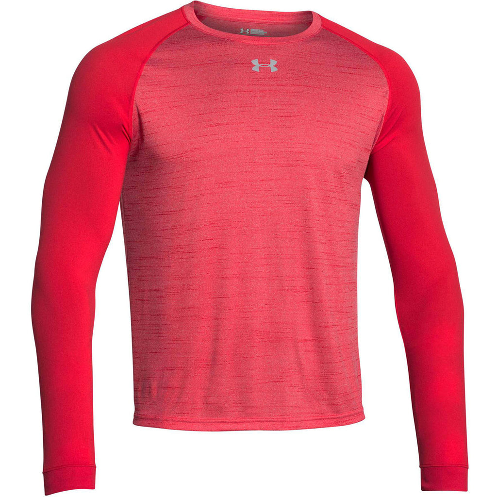 under armour red long sleeve