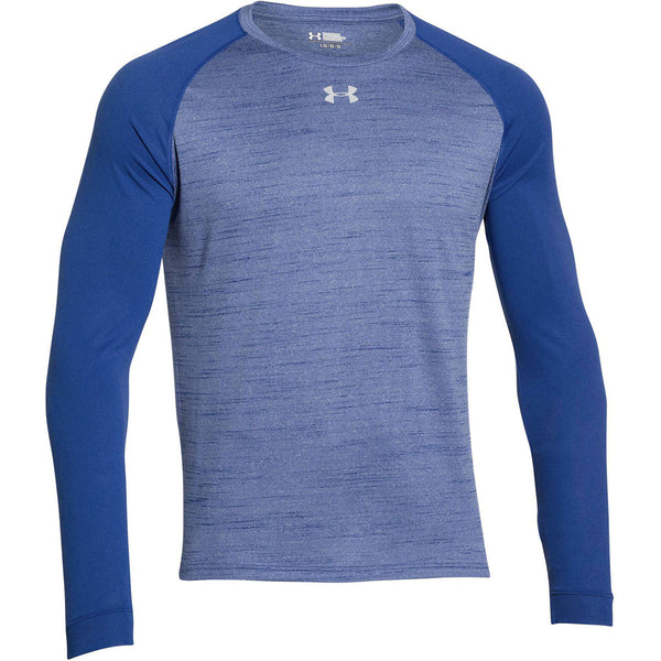 Under armour men 39 s royal novelty locker long sleeve tee for Men s ua locker long sleeve t shirt