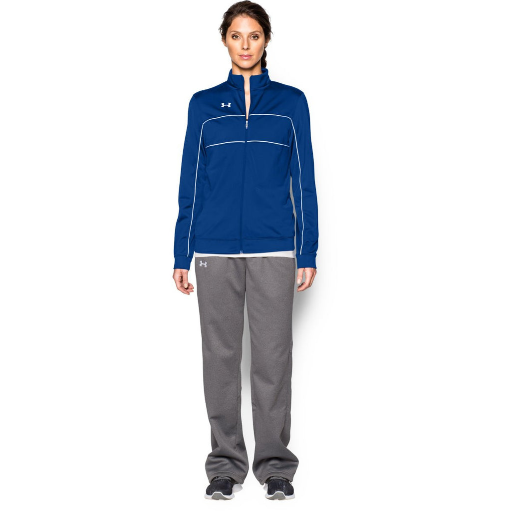Under Armour Women's Royal Rival Knit Warm-Up Jacket