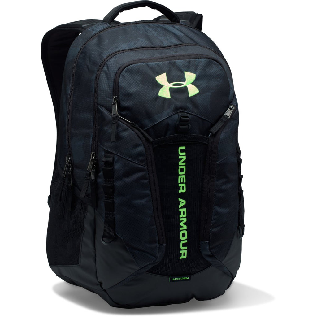 big sale 59f3a ea8e7 Under Armour Stealth Grey Black UA Storm Contender Backpack. ADD YOUR LOGO