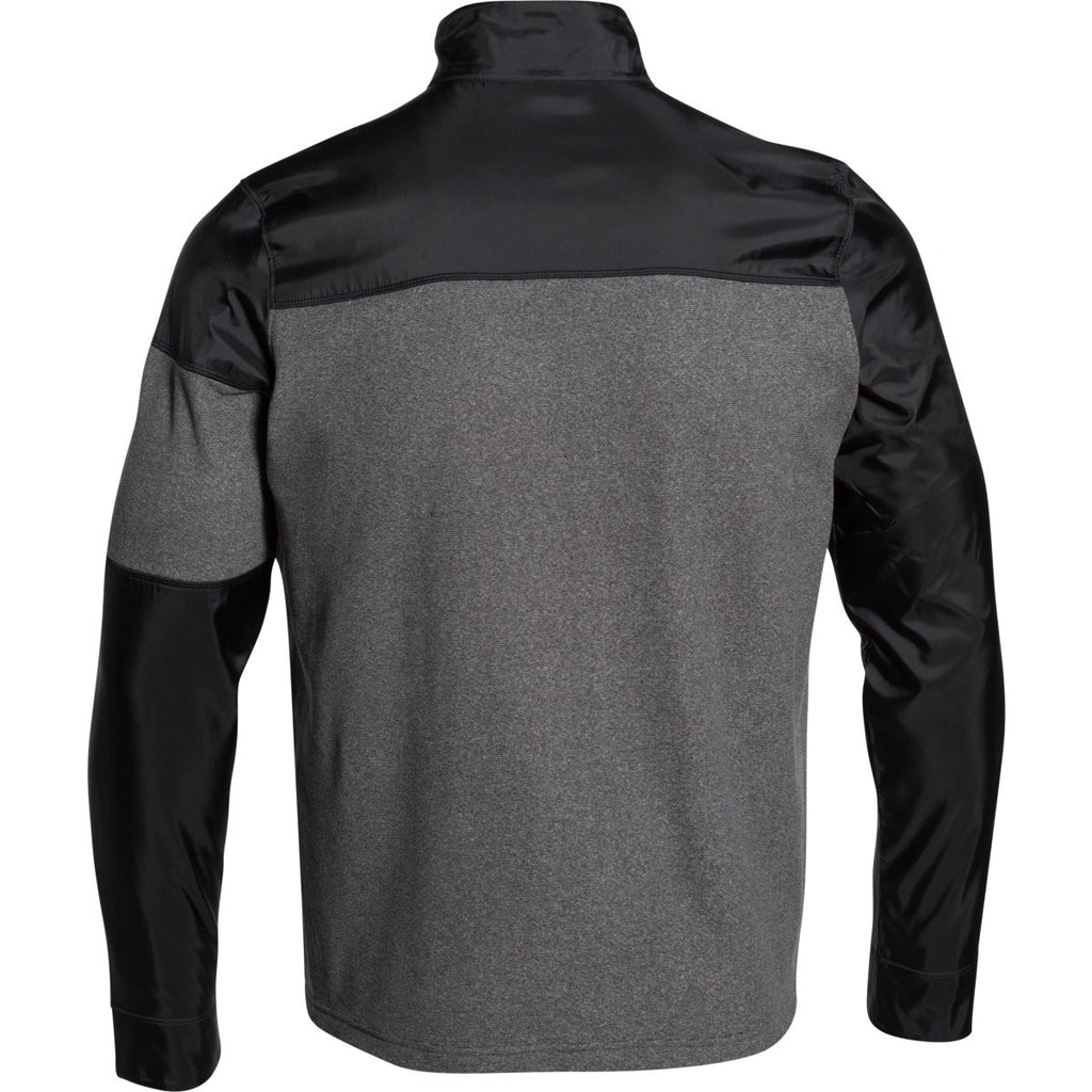 Under Armour Men's Black Performance Fleece Full Zip