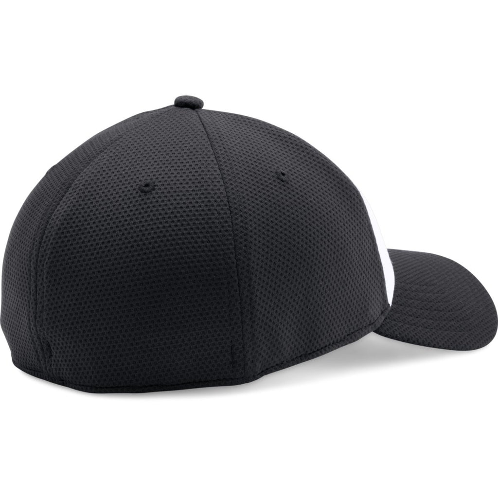Under Armour Black/White Color Blocked Blitzing Cap