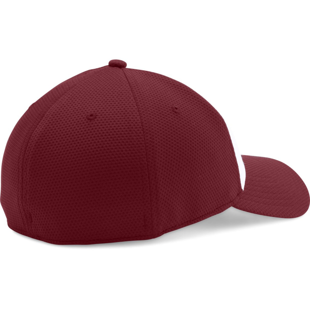 Under Armour Forest Cardinal/White Color Blocked Blitzing Cap