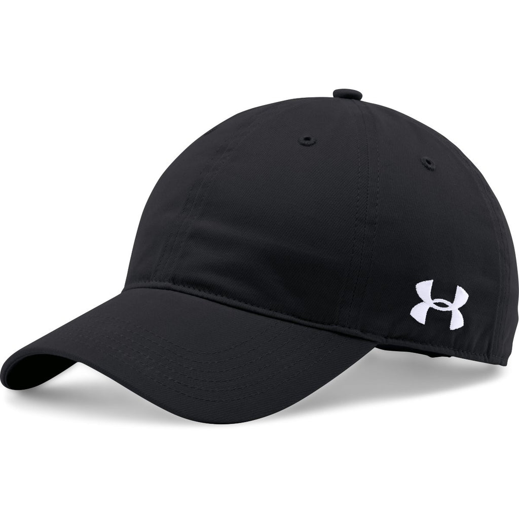 83a8bc84 Under Armour Black Chino Relaxed Cap. ADD YOUR LOGO