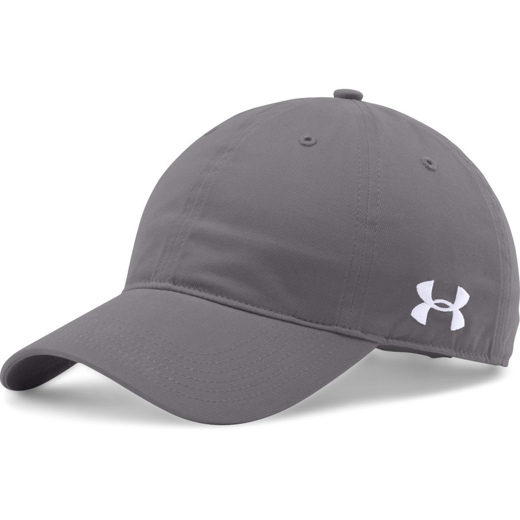 Under Armour Graphite Chino Relaxed Cap. ADD YOUR LOGO e8ebdd7f259