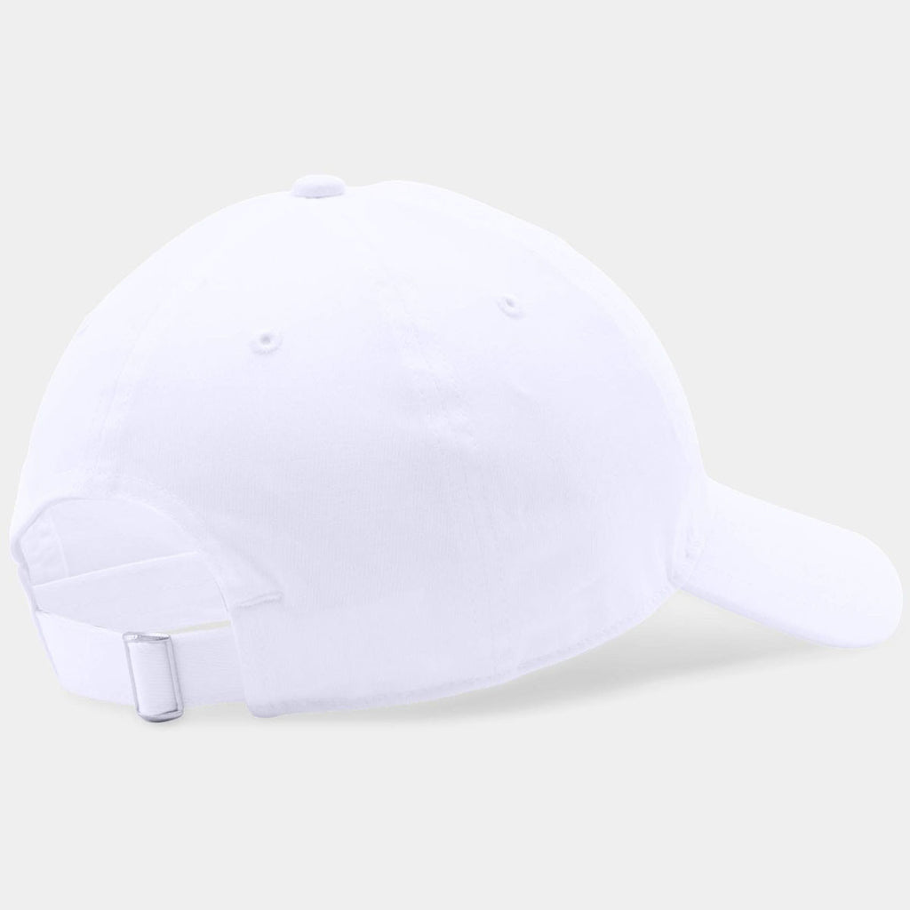 Under Armour White Chino Relaxed Cap