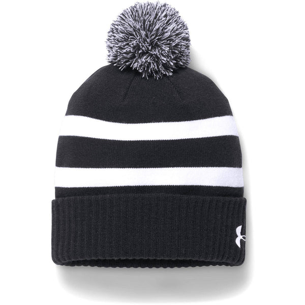 Under Armour Men s Black Pom Beanie 29ef00077d9