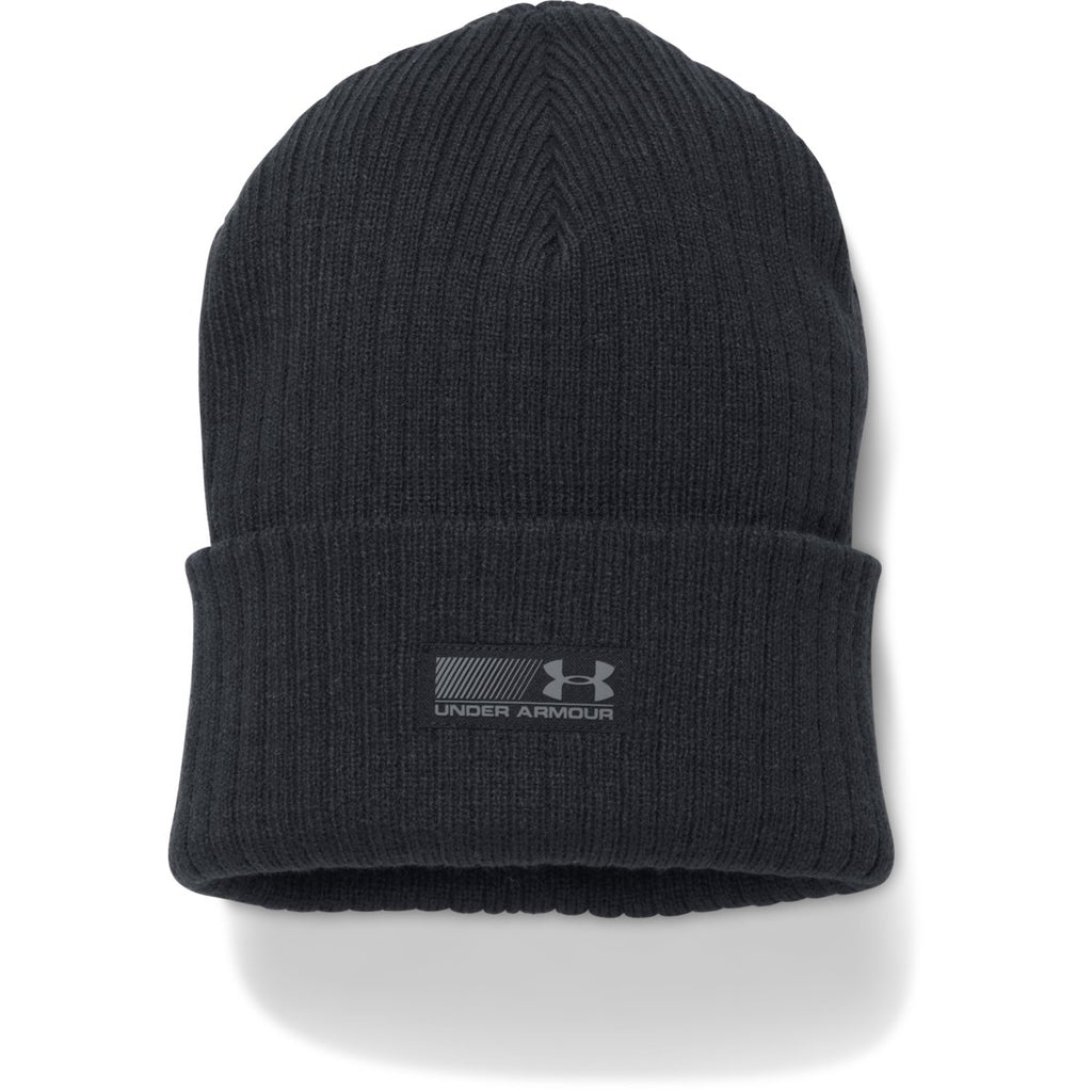 f67771ea2da Under Armour Men s Black UA Truck Stop Beanie