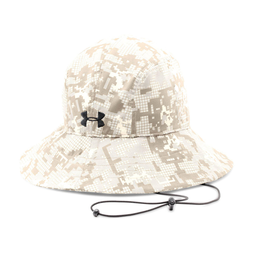 71b0c938924 Under Armour Men s Sandstorm Digital Camouflage Blank Bucket Cap. ADD YOUR  LOGO
