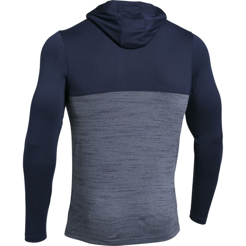 Under Armour Men's Midnight Navy Tech Quarter Zip Hoody
