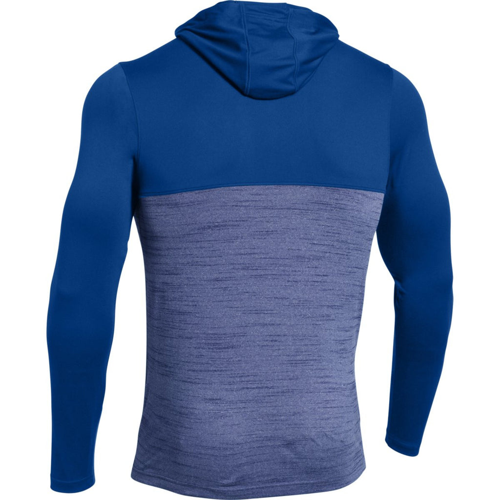 Under Armour Men's Royal Tech Quarter Zip Hoody