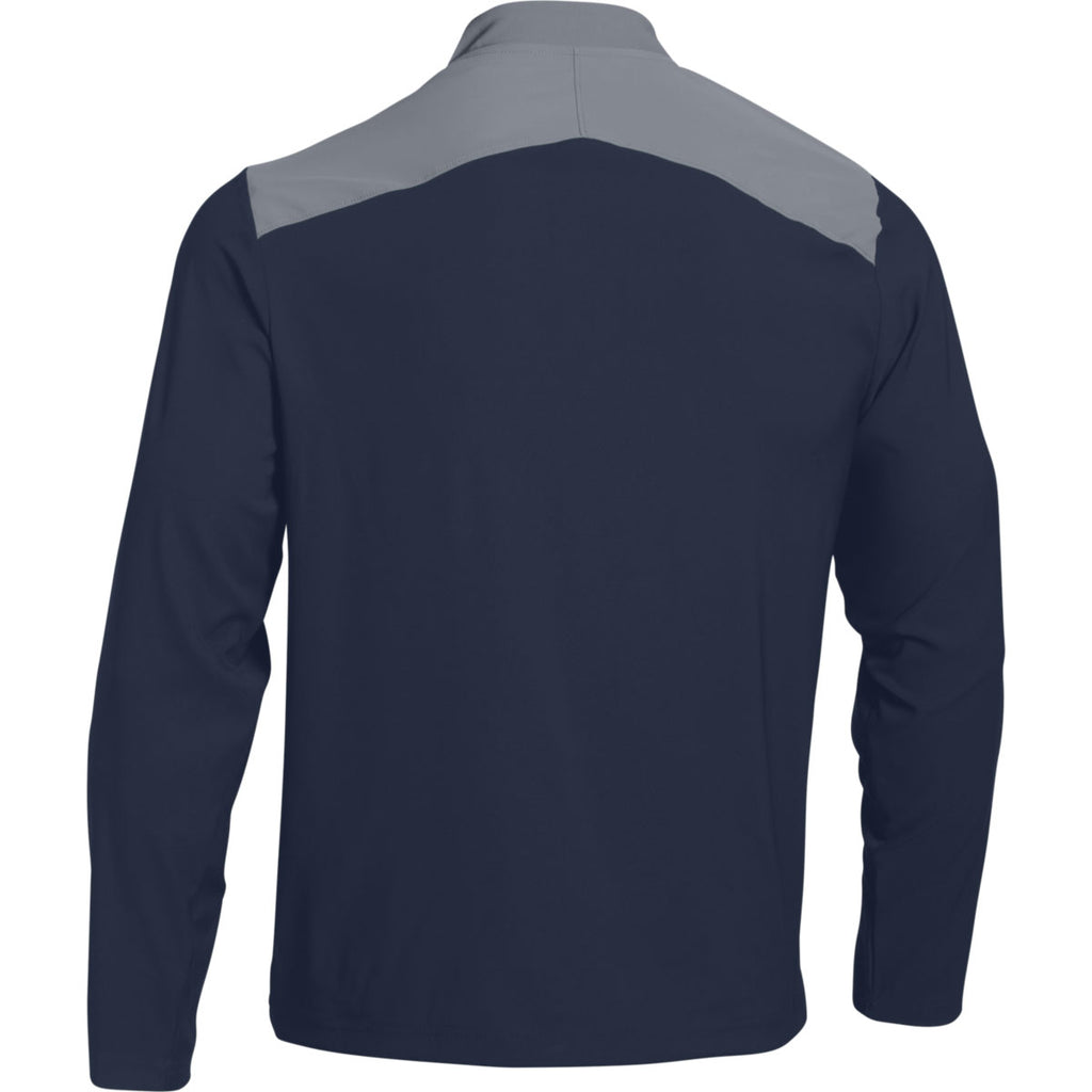 Under Armour Men S Midnight Navy Triumph Cage Jacket Long Sleeve