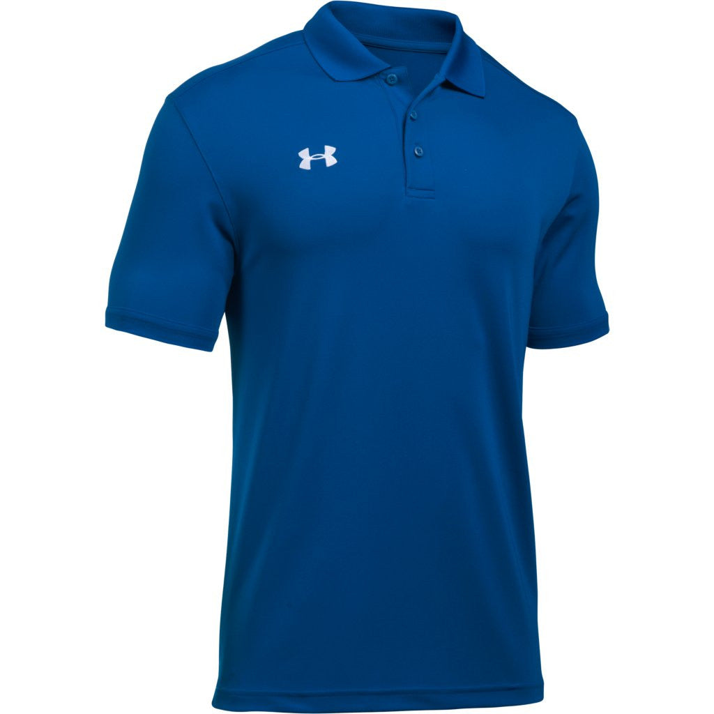 Under armour men 39 s royal team armour polo for Under armour embroidered polo shirts