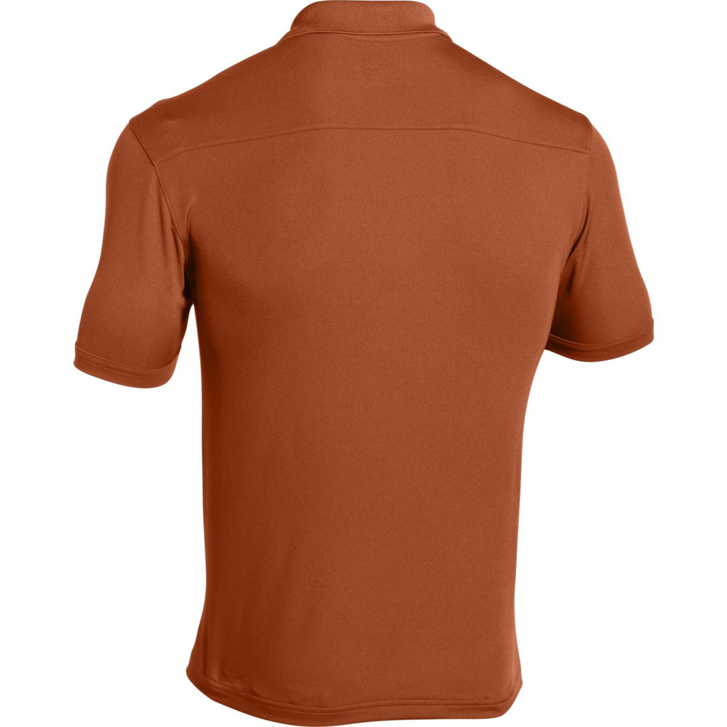 Under Armour Men's Texas Orange Team Armour Polo