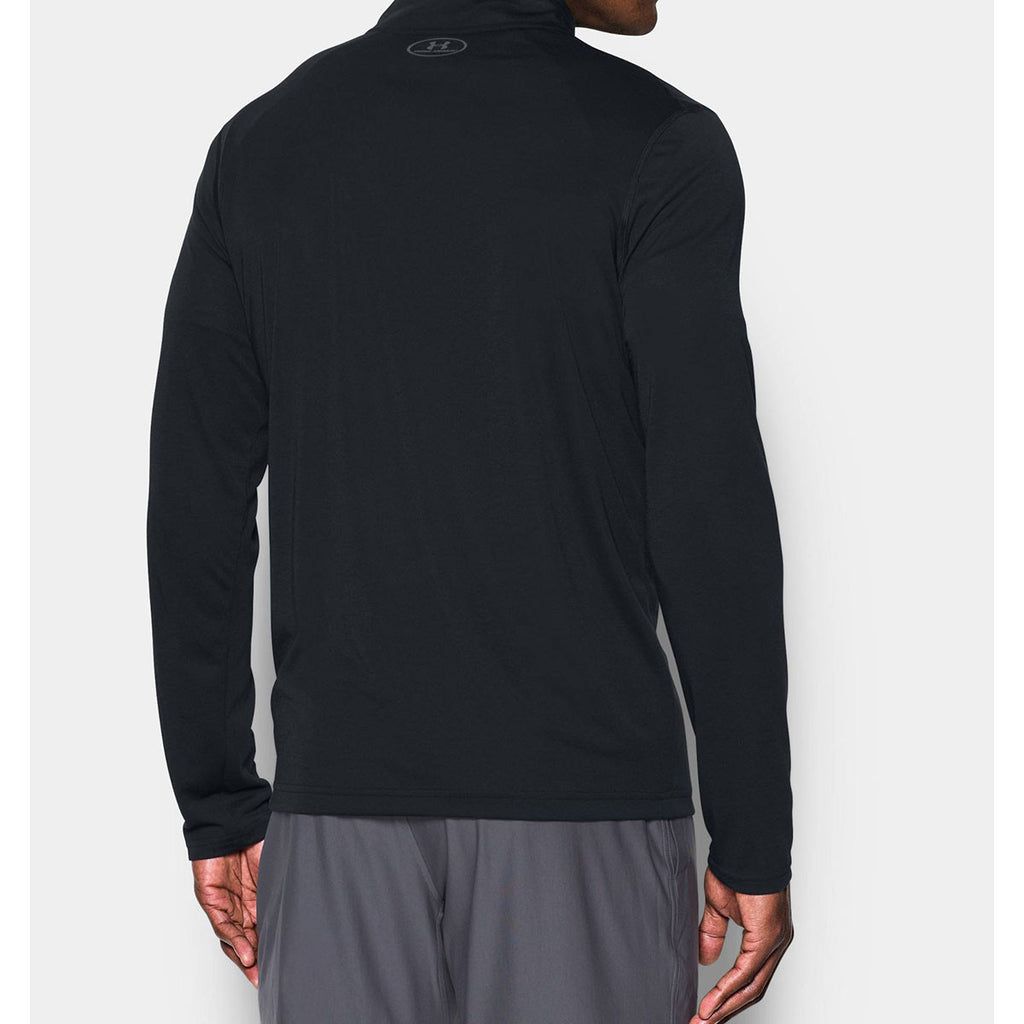 Under Armour Men's Black Threadborne Quarter Zip
