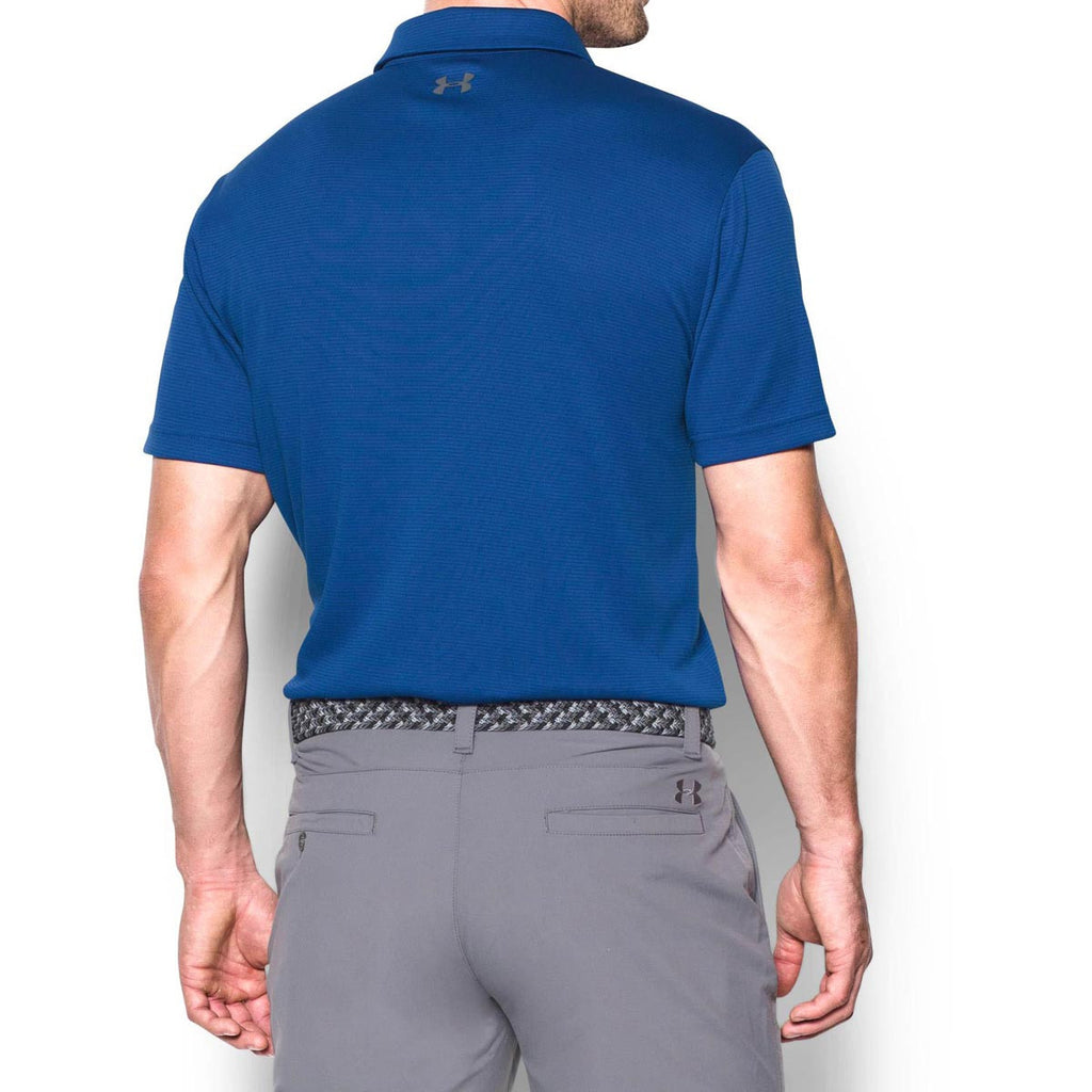 Under Armour Men's Royal/Graphite/Graphite Tech Polo