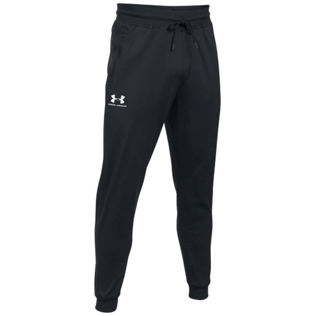 hot-selling real new arrive amazon Under Armour Men's Black Sportstyle Tricot Jogger