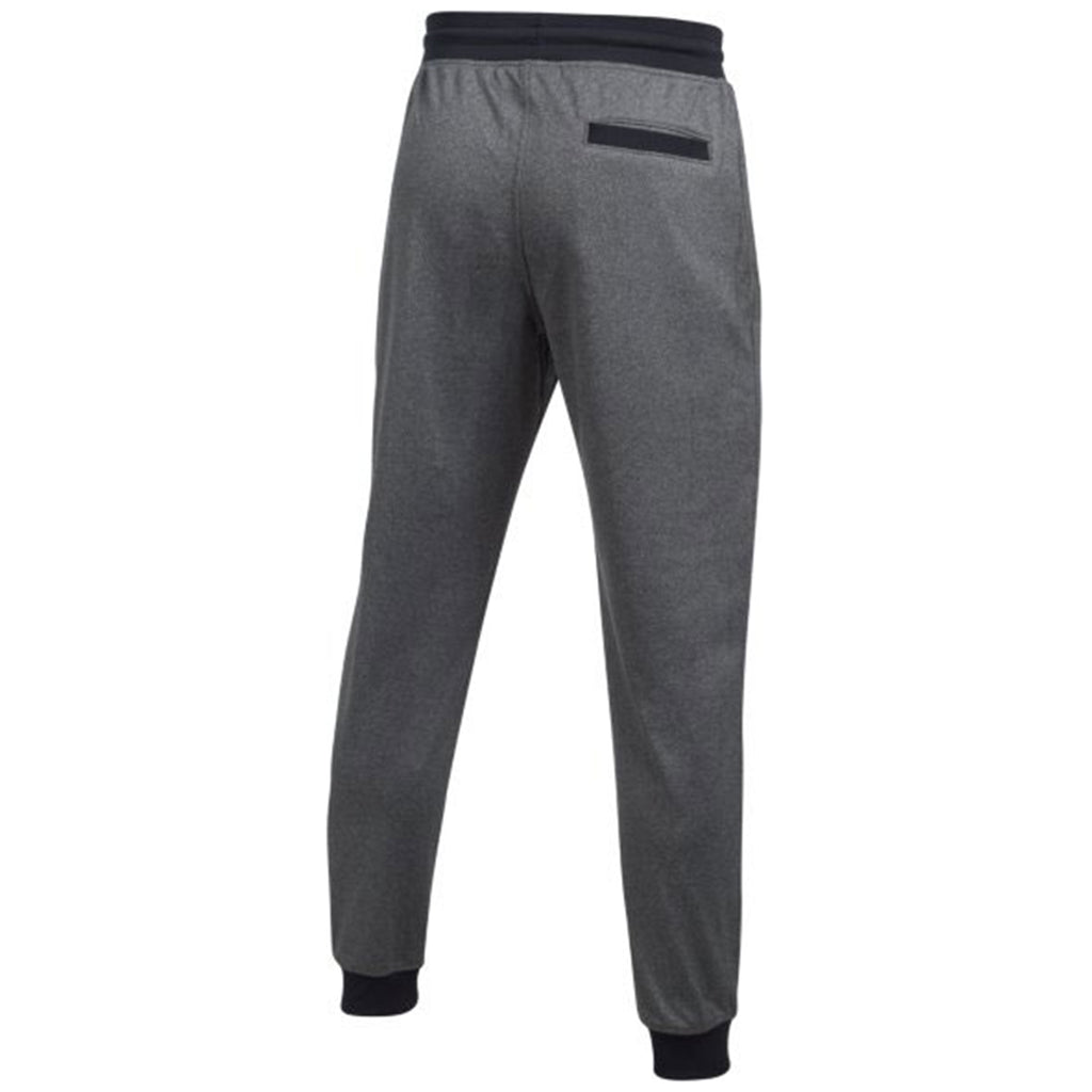Under Armour Men's Carbon Heather Sportstyle Tricot Jogger
