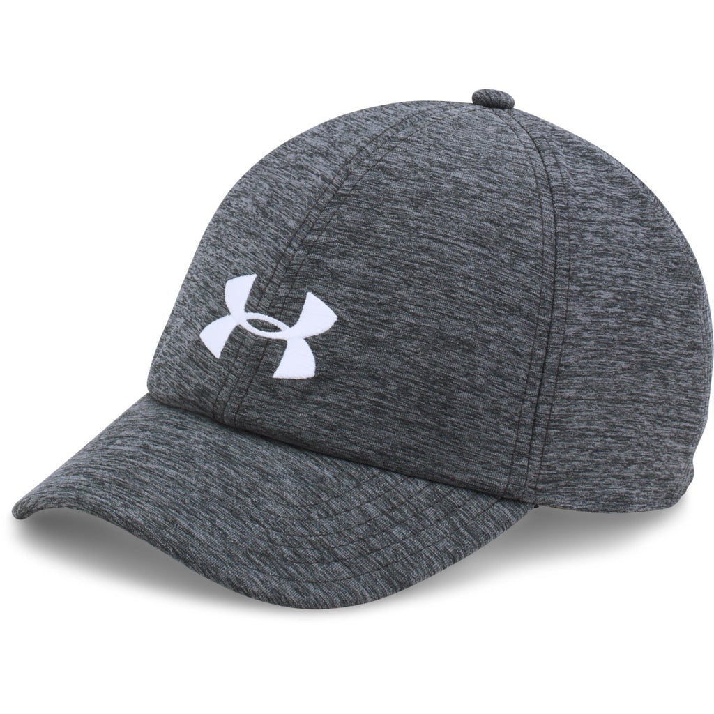 45c81af5799 Under Armour Women s Black Graphite UA Twisted Renegade Cap. ADD YOUR LOGO
