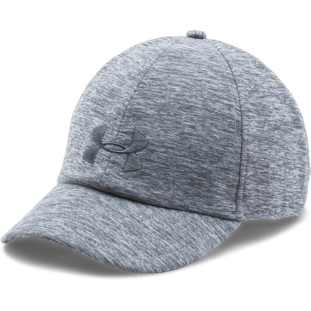 d83683cf745 Under Armour Women s True Gray Heather UA Twisted Renegade Cap. ADD YOUR  LOGO