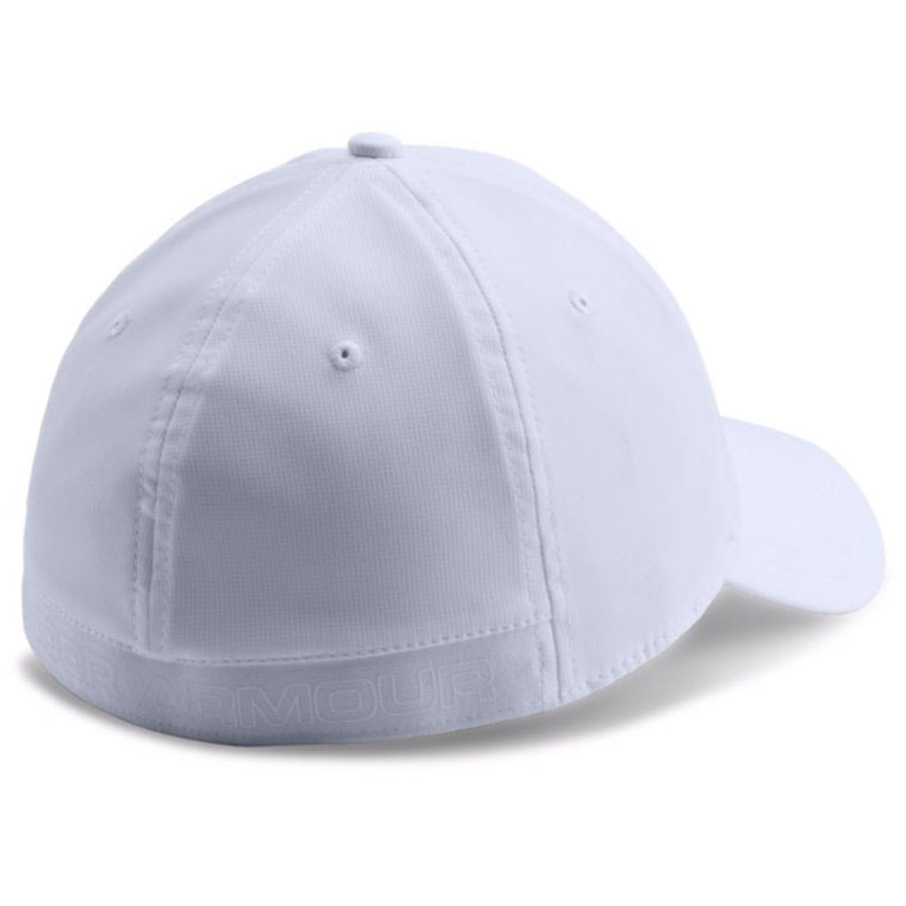 Under Armour Men's White Storm Headline Cap