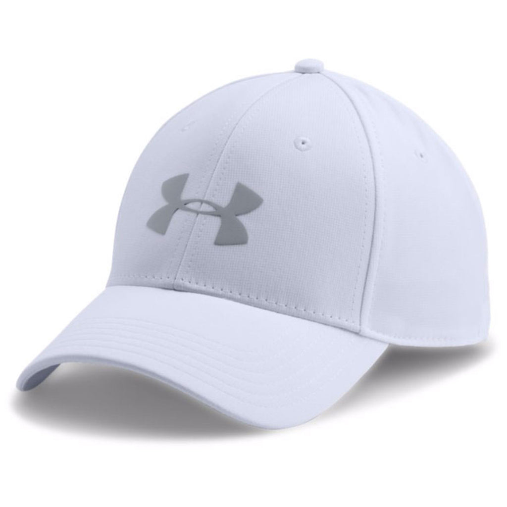 Under Armour Men s White Storm Headline Cap. ADD YOUR LOGO 0f3a396ed1c