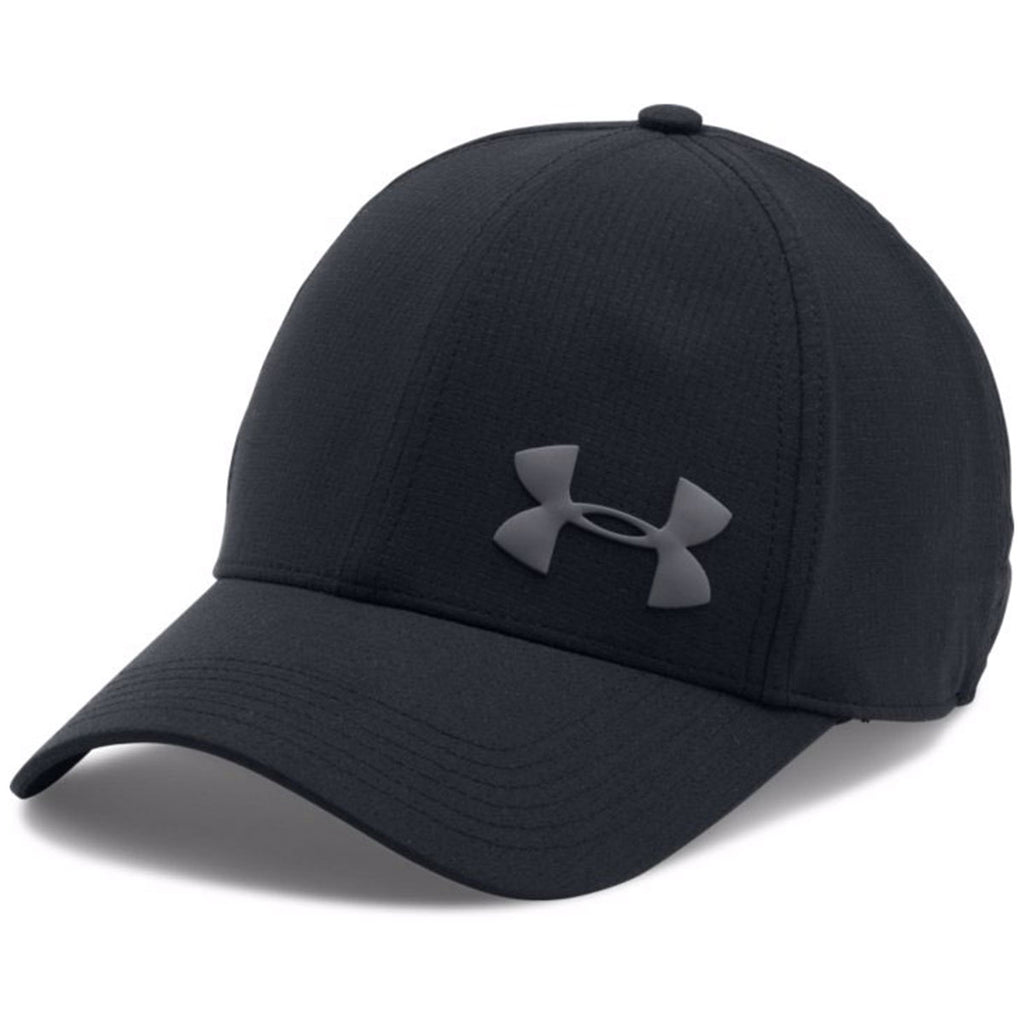 Under Armour Men s Black AirVent Core Cap. ADD YOUR LOGO e811b8c04b6