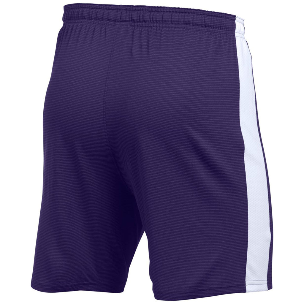 Under Armour Men's Purple Threadborne Match Shorts