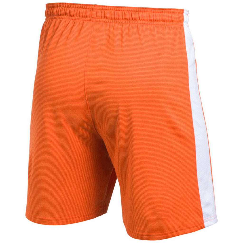 Under Armour Men's Orange Threadborne Match Shorts