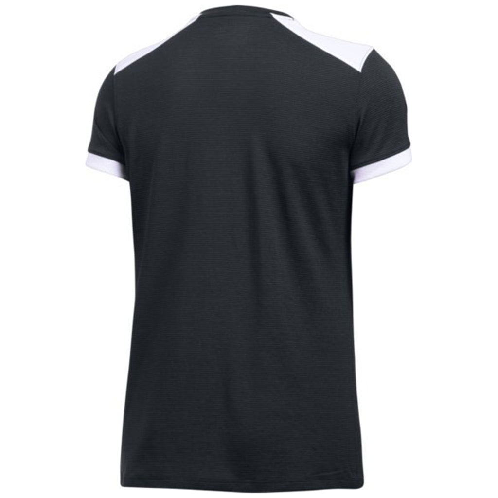 Under Armour Women's Black Threadborne Match Jersey