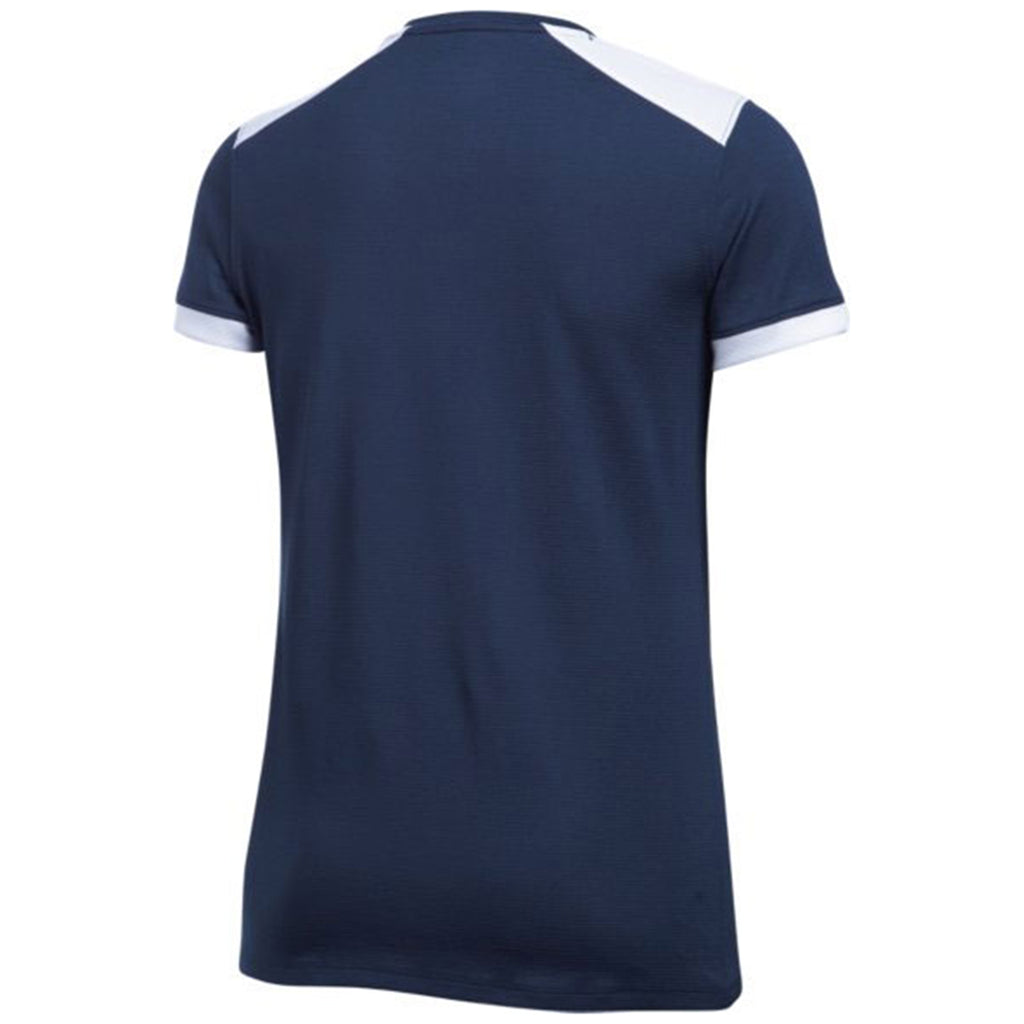 Under Armour Women's Midnight Navy Threadborne Match Jersey