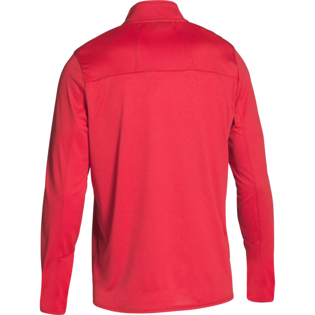 Under Armour Men's Red Locker Quarter Zip