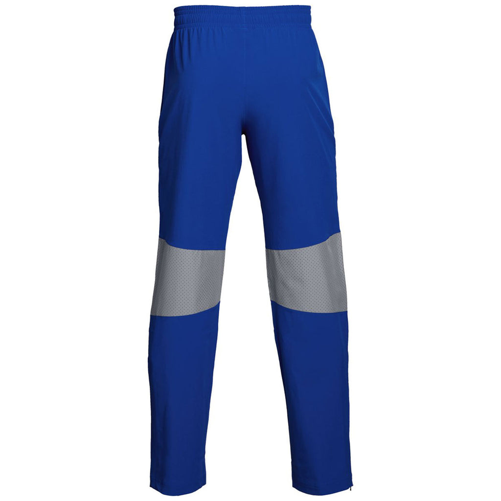 Under Armour Men's Royal Squad Woven Warm-Up Pant