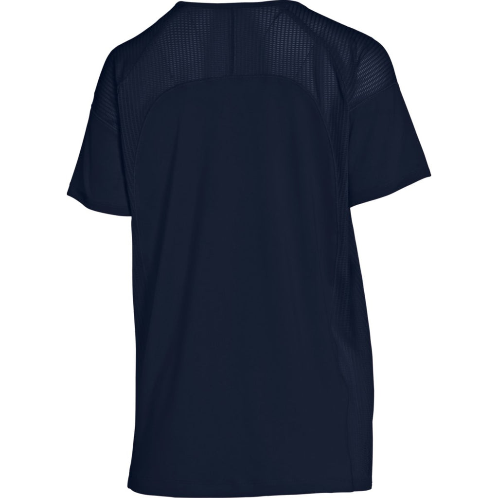 Under Armour Women's Midnight Navy Game Time Tee