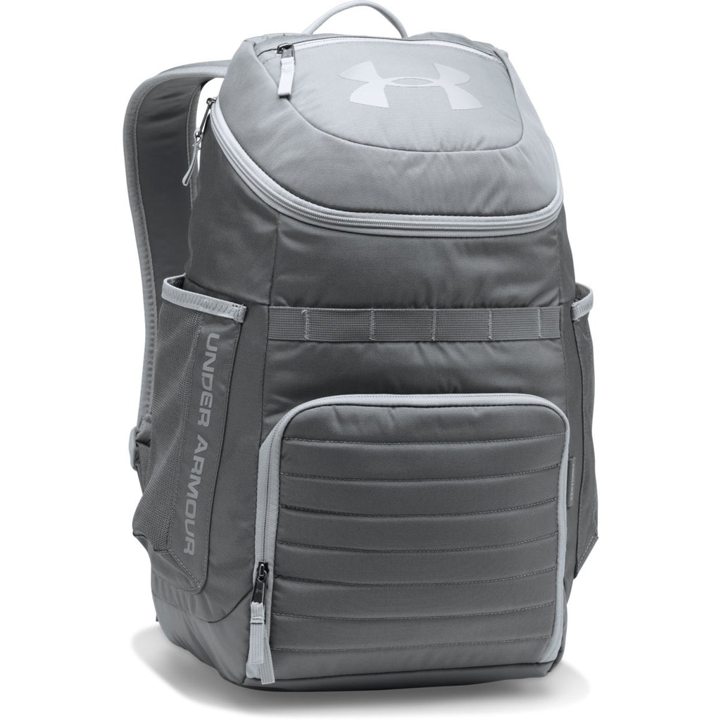 c5d67cbc0b Under Armour Graphite UA Undeniable 3.0 Backpack. ADD YOUR LOGO