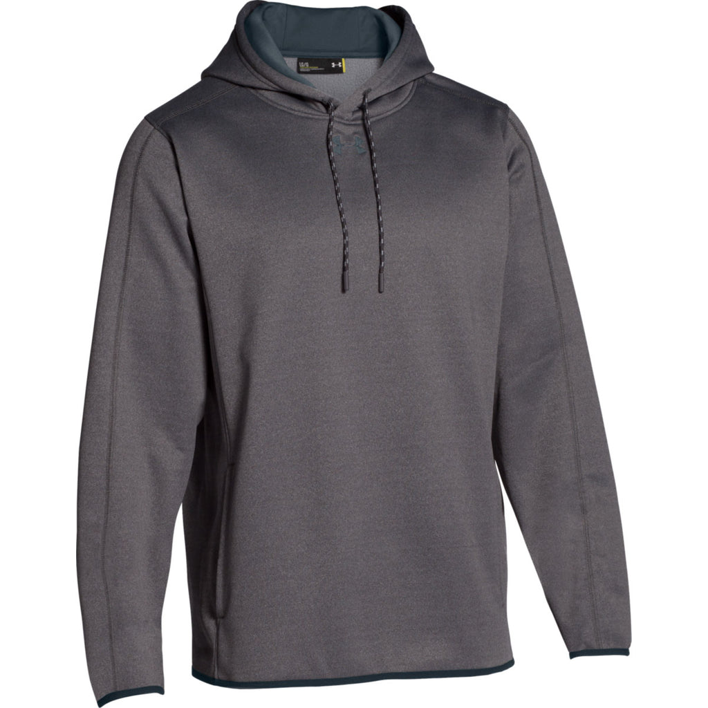 b353228f Under Armour Men's Carbon Heather Double Threat Hoodie
