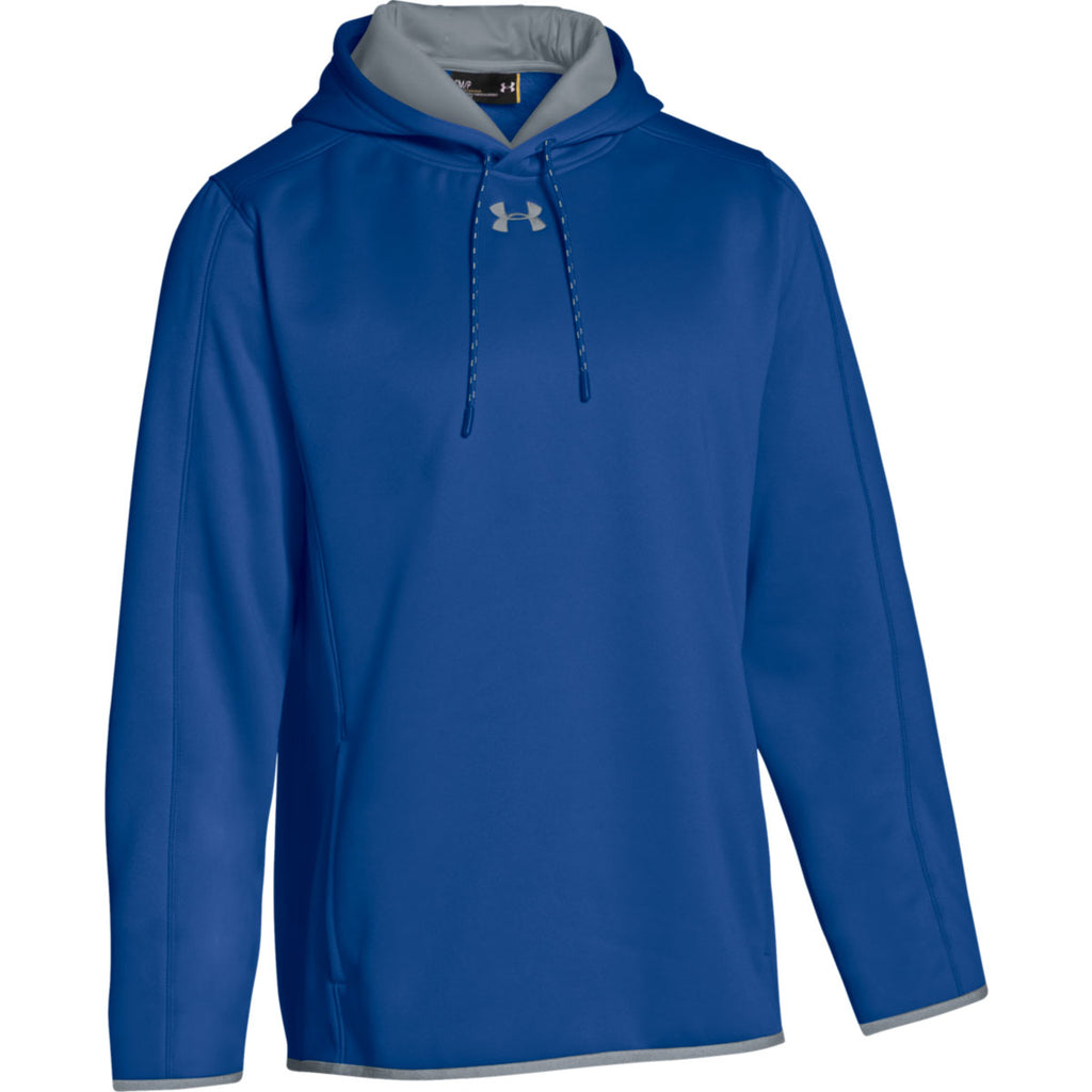 royal blue under armour hoodie