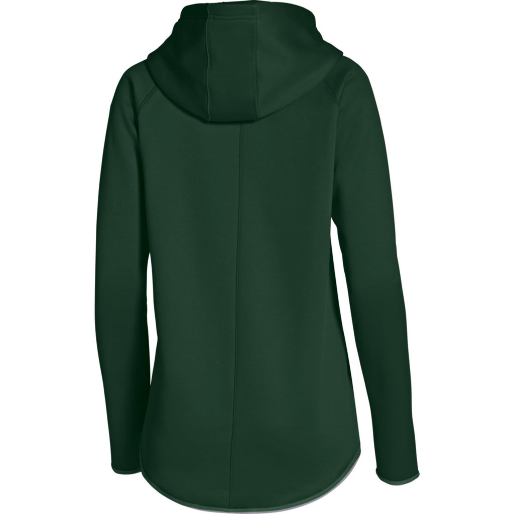Under Armour Women's Forest Green Double Threat Hoody