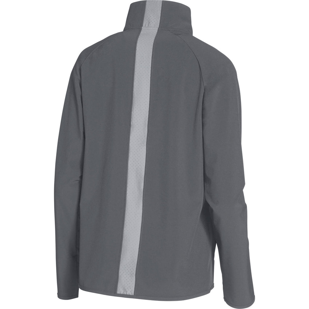 Under Armour Women's Graphite UA Squad Woven Jacket
