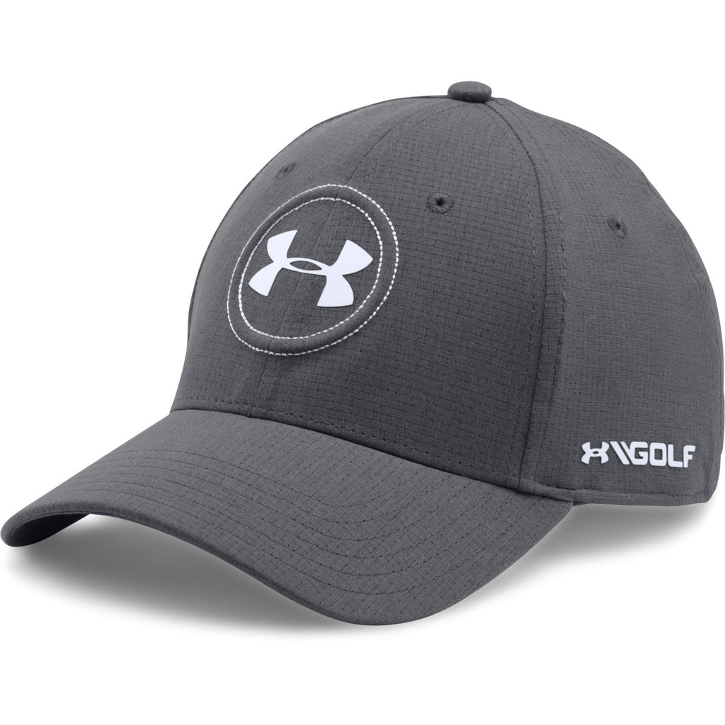 1c1d1024818e Under Armour Men s Graphite White UA Jordan Spieth Cap. ADD YOUR LOGO
