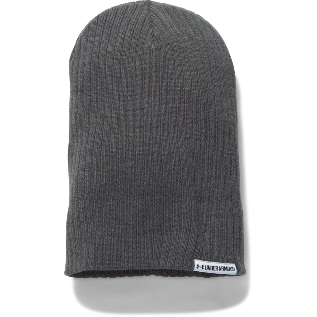 d165324220b MSRP   21.99 USD. Under Armour Women s Carbon Heather White Boyfriend Cuff  Beanie