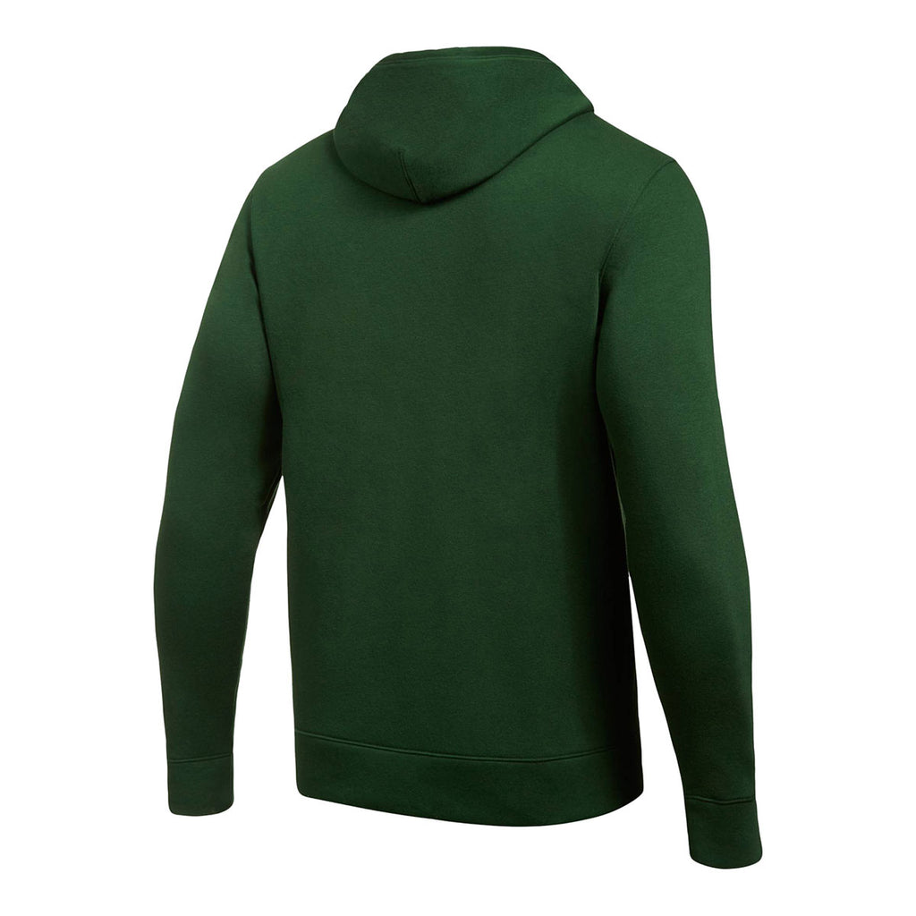 Under Armour Men's Forest Green Hustle Fleece Hoody
