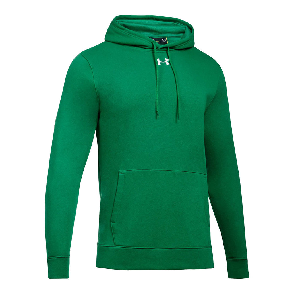 933d77b3c3f8 Under Armour Men s Team Kelly Green Hustle Fleece Hoody. ADD YOUR LOGO