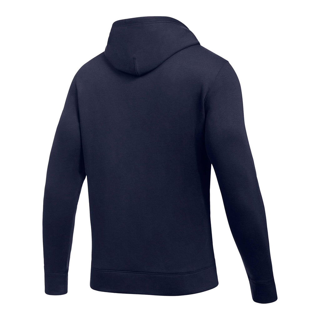 Under Armour Men's Midnight Navy Hustle Fleece Hoody