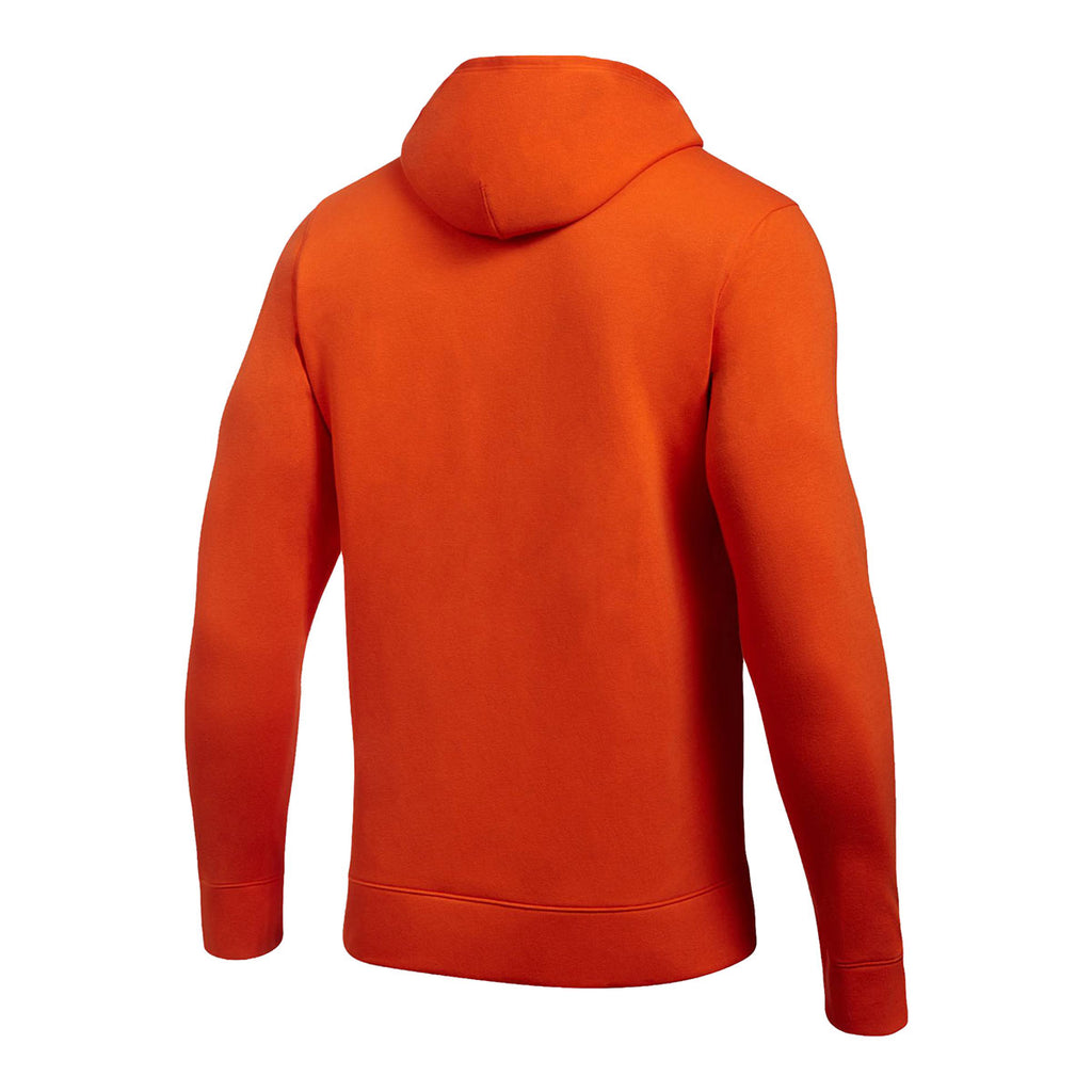 Under Armour Men's Dark Orange Hustle Fleece Hoody