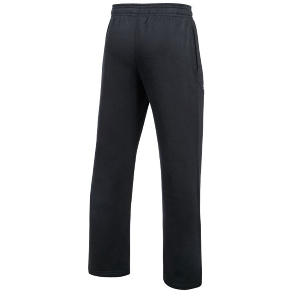 Under Armour Men's Black Hustle Fleece Pant