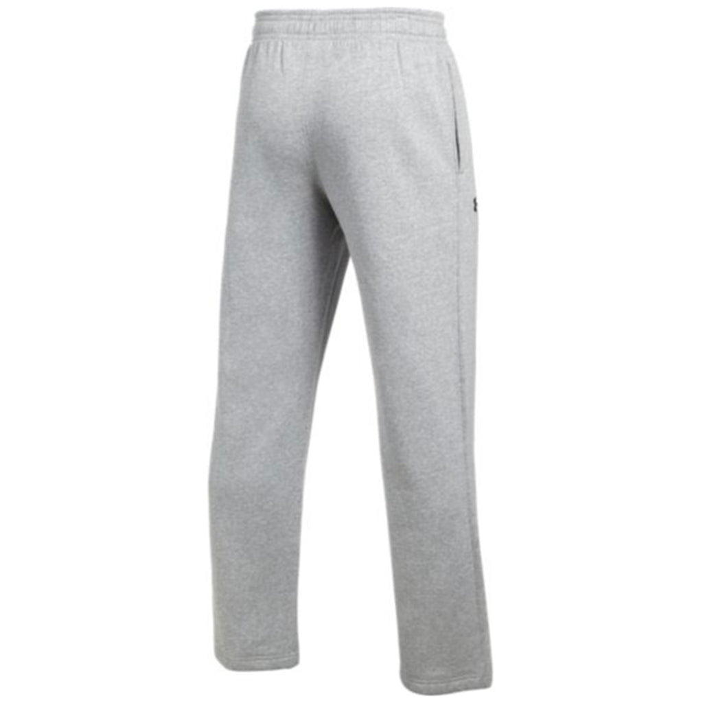 Under Armour Men's True Grey Heather Hustle Fleece Pant