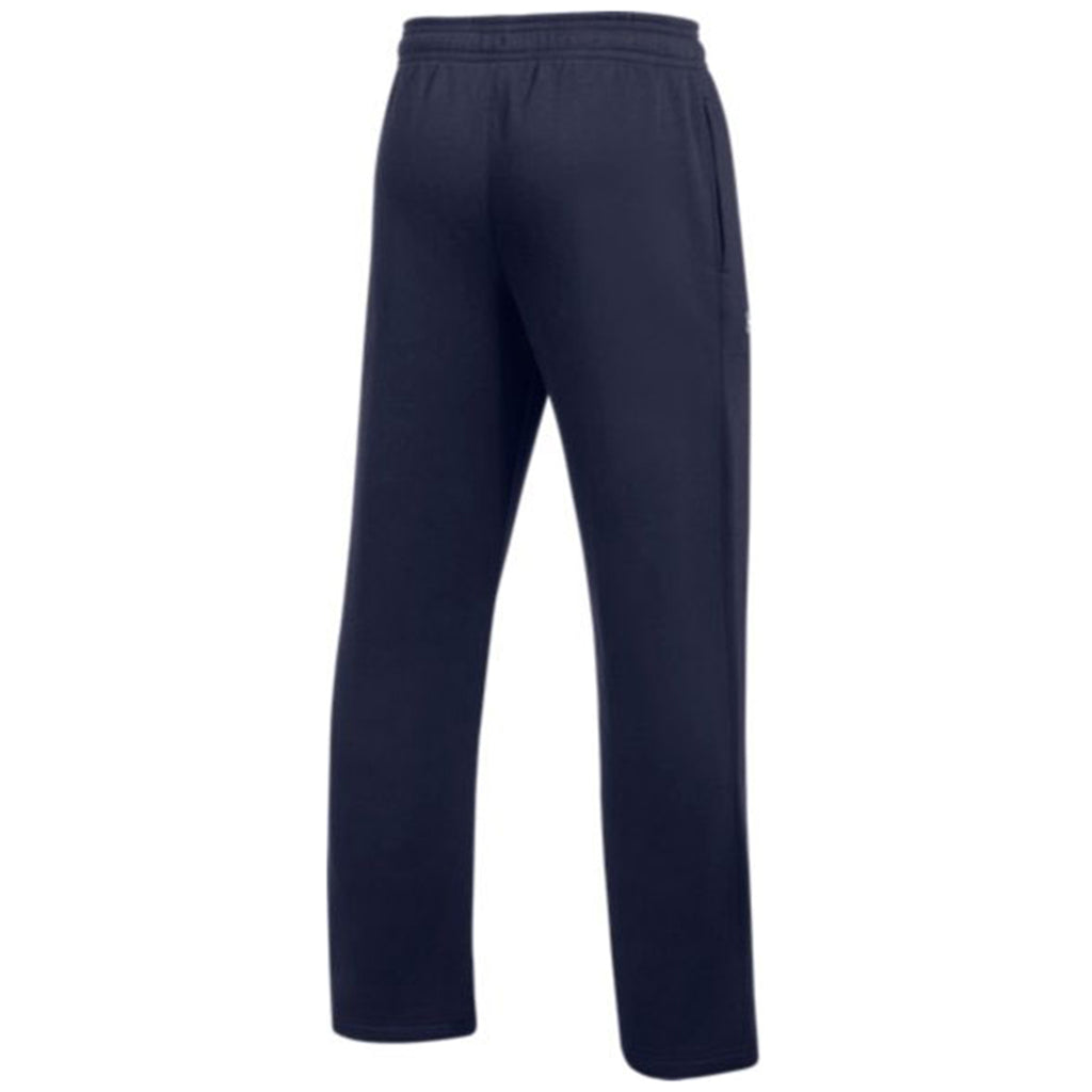 Under Armour Men's Midnight Navy Hustle Fleece Pant