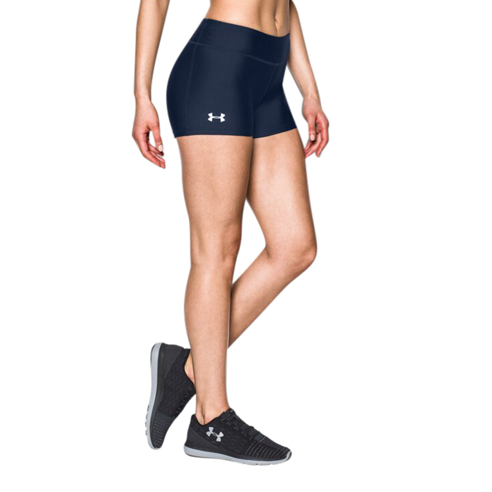 Under Armour Women's Midnight Navy On The Court Shorts 3""